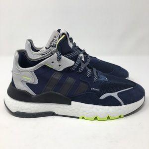 Adidas Nite Jogger Navy Lime s45